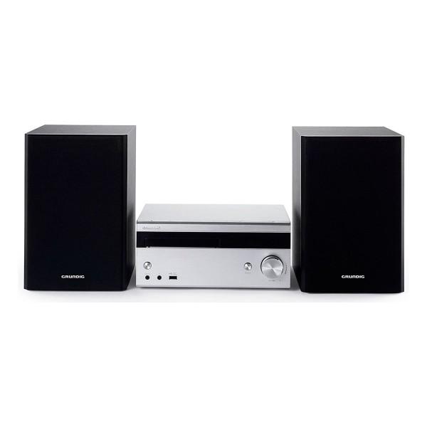 Grundig m3000bt sistema de audio hi-fi 100w rms bluetooth reproductor usb cd aux radio fm