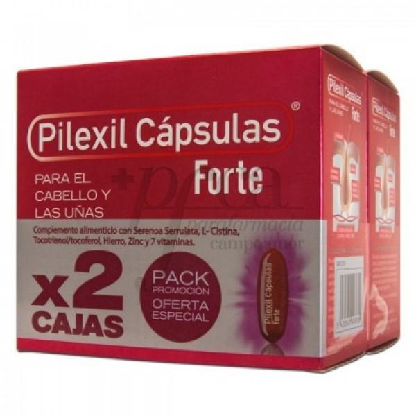 PILEXIL FORTE 2X 100 CAPS PROMO