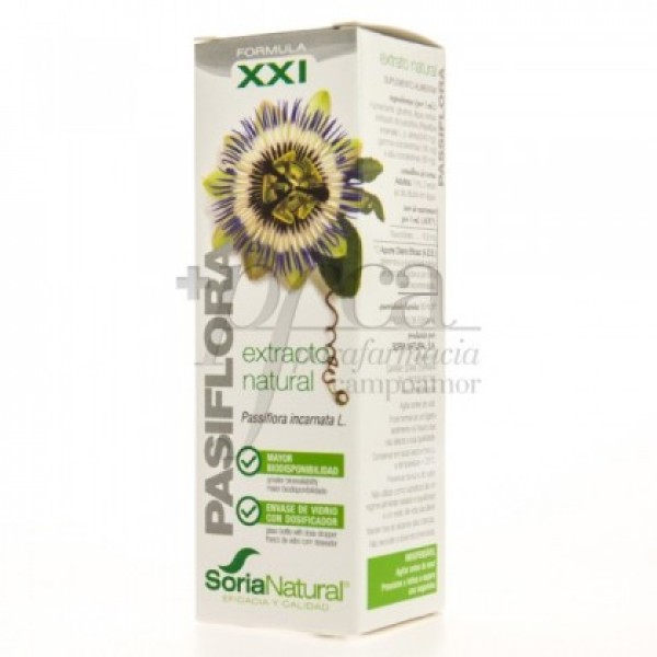 EXTRACTO NATURAL XXI DE PASIFLORA 50ML