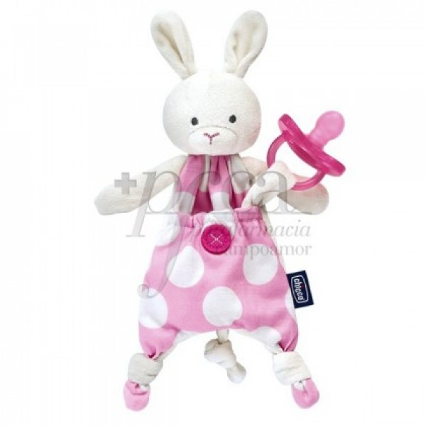 CHICCO GUARDA CHUPETE POCKET FRIEND ROSA 0M+