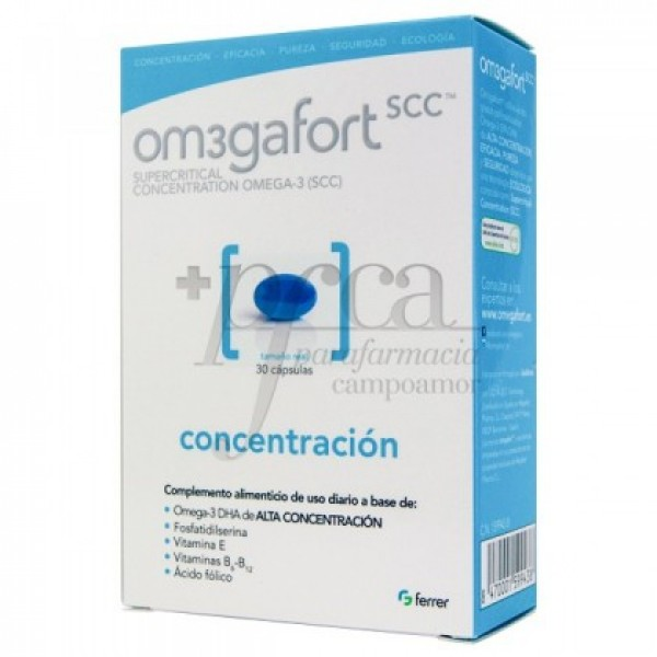 OMEGAFORT CONCENTRACION 690 MG 30 CAPS