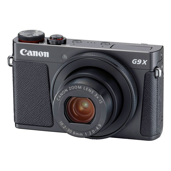 Canon powershot g9 x mark ii negro cámara compacta 20.2mp digic 7 wifi nfc full hd estabilizador óptico