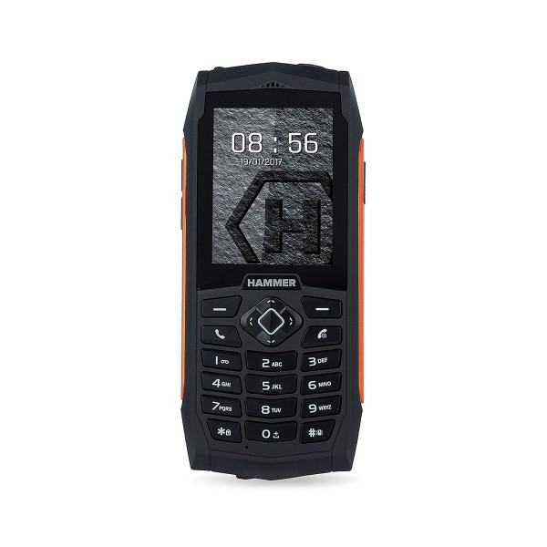 Myphone hammer 3 negro naranja móvil resistente ip68 dual sim 2.4'' tft cámara vga bluetooth radio fm