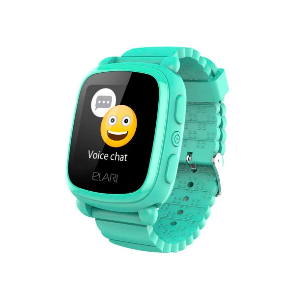Elari kidphone 2 verde reloj inteligente kids smartwatch para niños con localización gps y botón sos exclusivo
