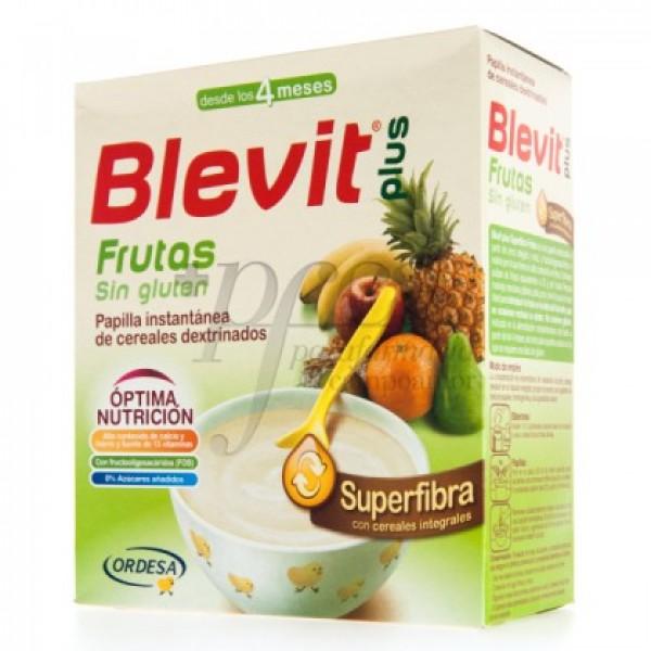 BLEVIT PLUS SUPERFIBRA FRUTAS SIN GLUTEN 600G