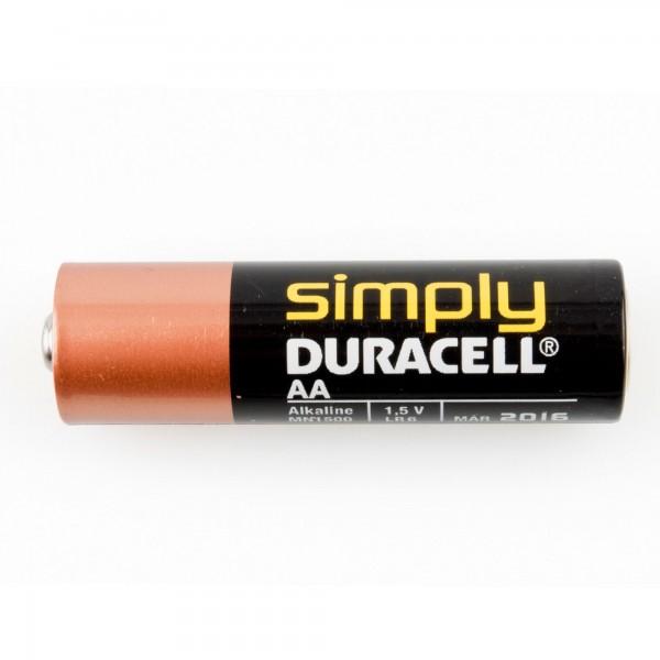 Pila duracell simply lr03-aaa bl.4