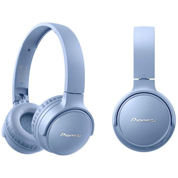 Pioneer se-s3bt azul auriculares on-ear inalámbricos s3 wireless manos libres