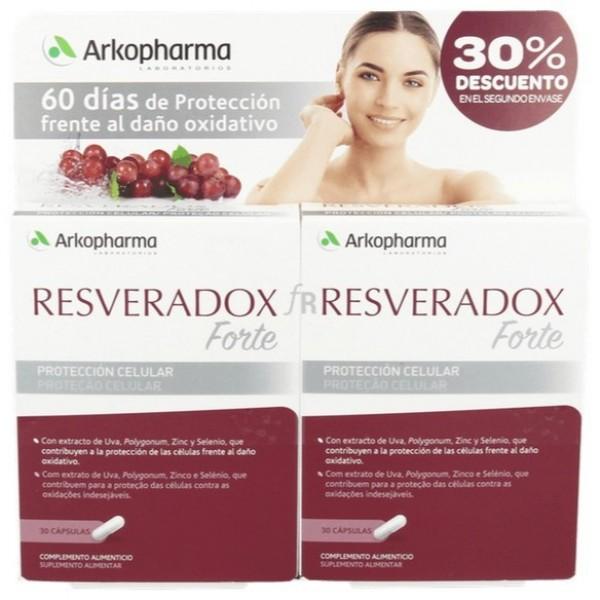 RESVERADOX FORTE 2X 30 CAPS PROMO
