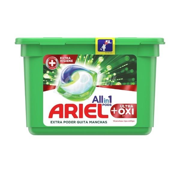 Ariel detergente Ultra Oxi Effect 10 cápsulas
