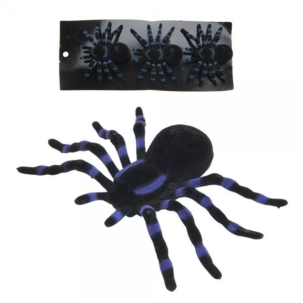 Set 3 arañas halloween 11cm